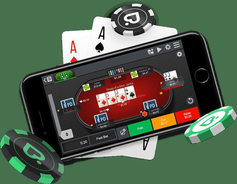 Мобильный клиент ПокерДом