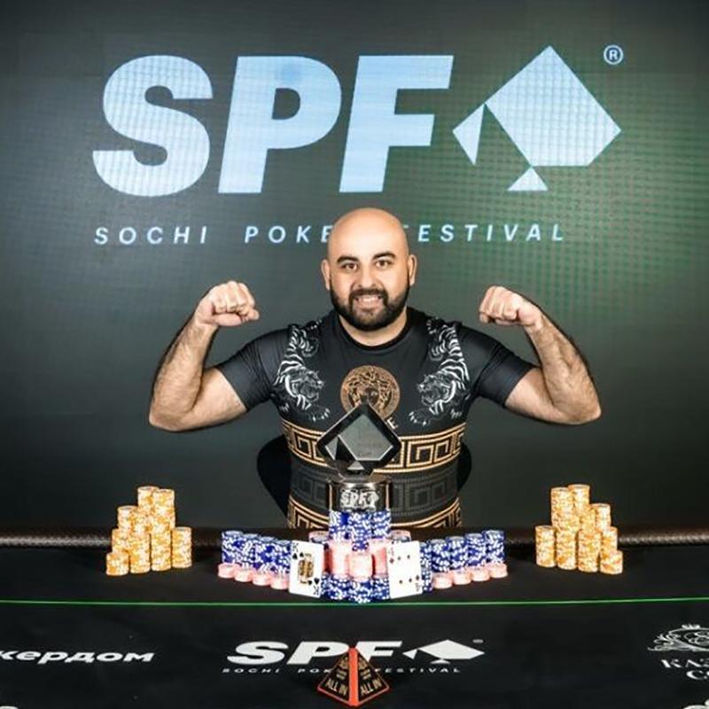В турнире Sochi Poker Cup победил Артур Адамянц